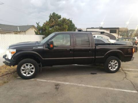 2014 Ford F-250 Super Duty for sale at Freds Auto Sales LLC in Carson City NV