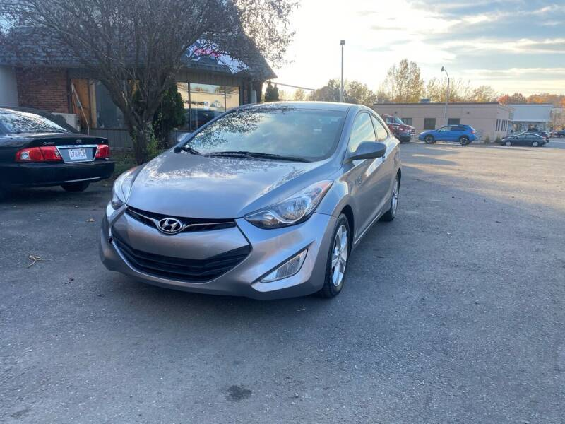 2013 Hyundai Elantra Coupe for sale at United Auto Service in Leominster MA