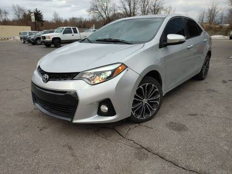 2015 Toyota Corolla for sale at Cruisin' Auto Sales in Madison IN