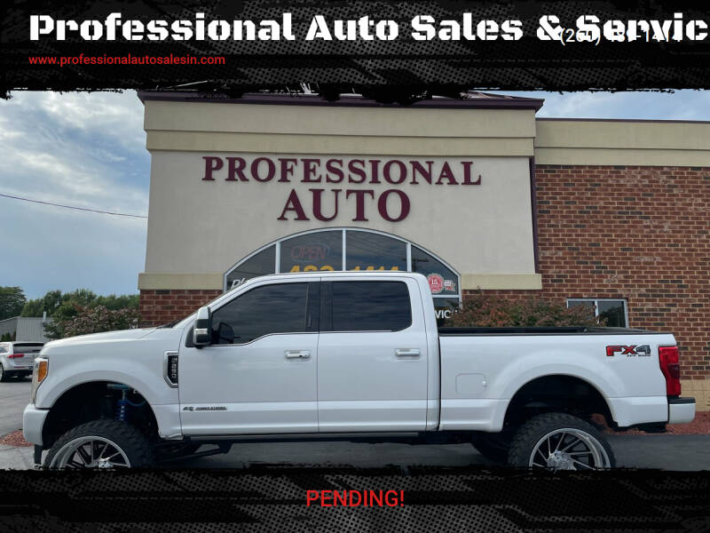 2018 Ford F-250 Super Duty for sale at Professional Auto Sales & Service in Fort Wayne IN