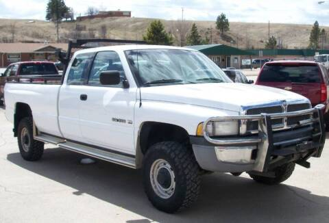 1996 Dodge Ram Pickup 2500 for sale at Central City Auto West in Lewistown MT
