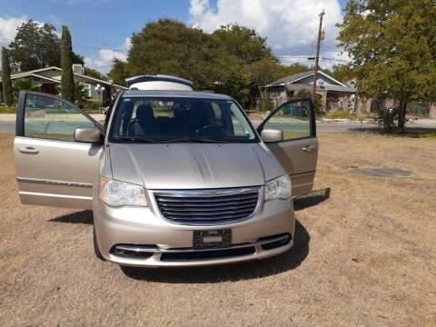2012 Chrysler Town and Country for sale at Carzready in San Antonio TX