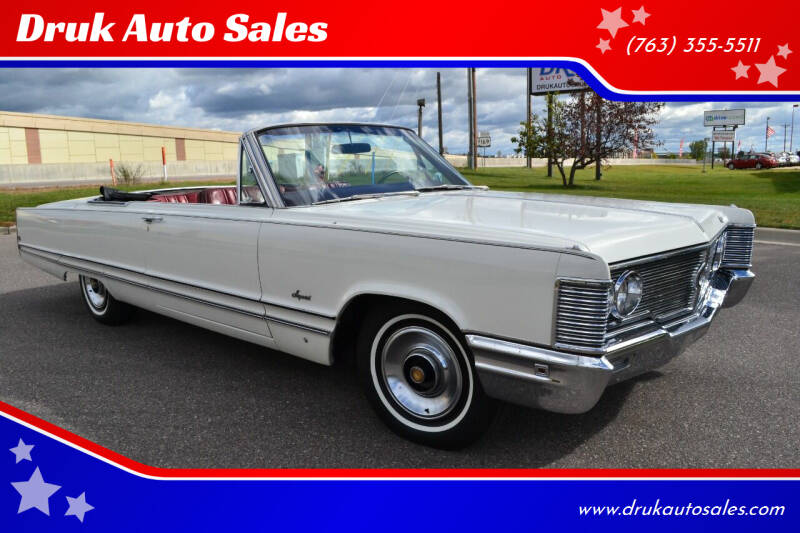 1968 Chrysler Imperial for sale at Druk Auto Sales in Ramsey MN