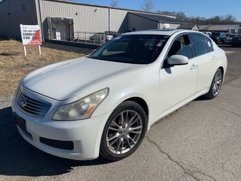 2007 Infiniti G35 for sale at Trocci's Auto Sales in West Pittsburg PA