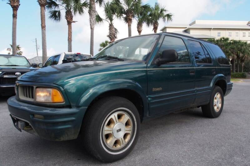 1996 Oldsmobile Bravada for sale at Gulf Financial Solutions Inc DBA GFS Autos in Panama City Beach FL