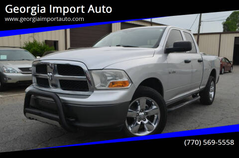 2010 Dodge Ram Pickup 1500 for sale at Georgia Import Auto in Alpharetta GA
