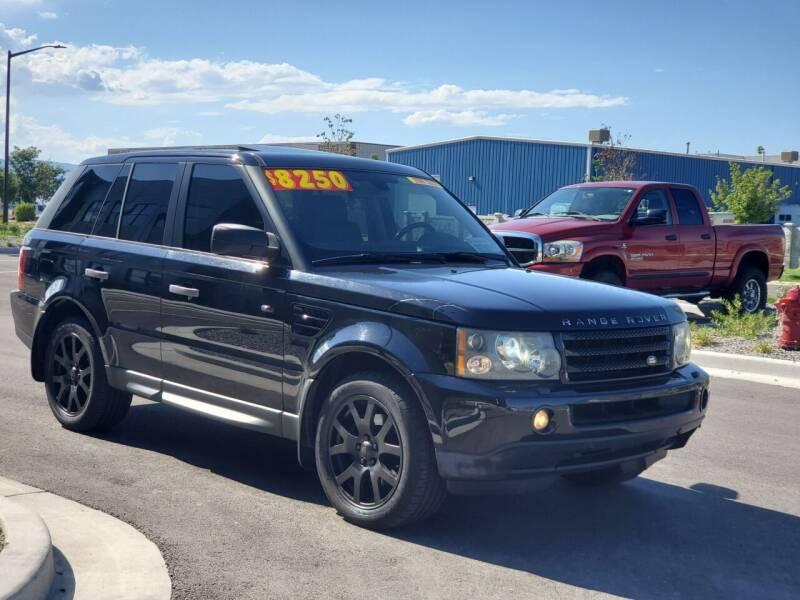 2007 Land Rover Range Rover Sport for sale at FRESH TREAD AUTO LLC in Springville UT