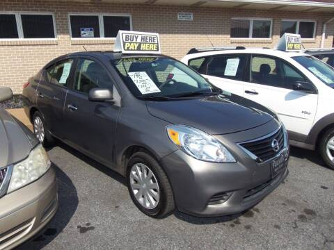 2012 Nissan Versa for sale at Fulmer Auto Cycle Sales - Fulmer Auto Sales in Easton PA