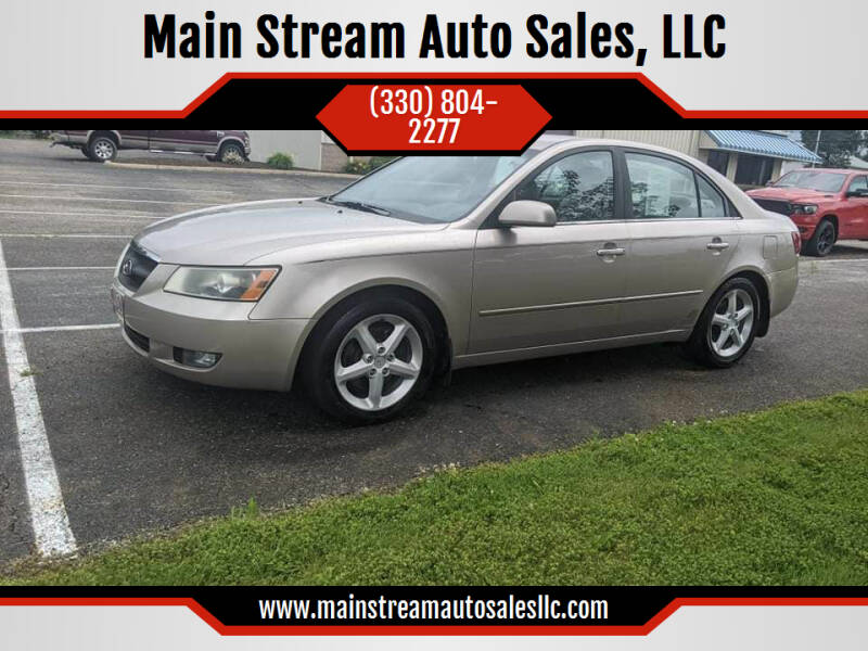 2006 Hyundai Sonata for sale at Main Stream Auto Sales, LLC in Wooster OH