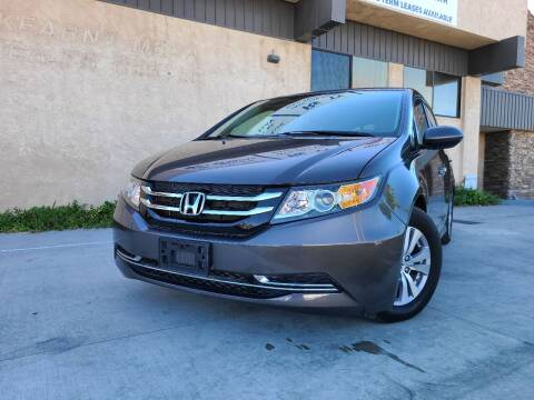 2016 Honda Odyssey for sale at Masi Auto Sales in San Diego CA