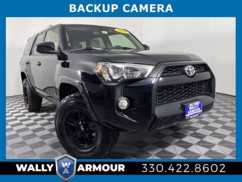 2016 Toyota 4Runner for sale at Wally Armour Chrysler Dodge Jeep Ram in Alliance OH