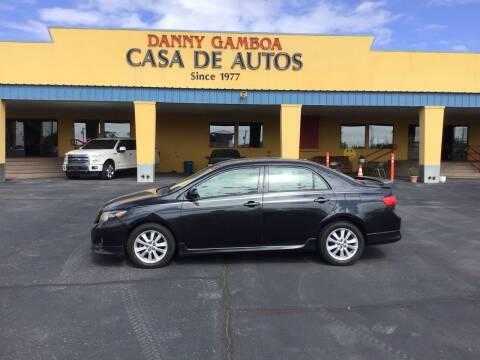 2009 Toyota Corolla for sale at CASA DE AUTOS, INC in Las Cruces NM