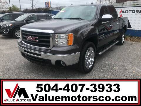 2011 GMC Sierra 1500 for sale at Value Motors Company in Marrero LA