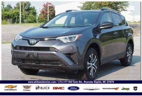 2018 Toyota RAV4 for sale at WHITE MOTORS INC in Roanoke Rapids NC