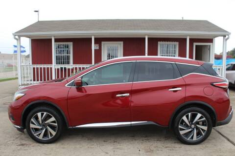 2015 Nissan Murano for sale at AMT AUTO SALES LLC in Houston TX