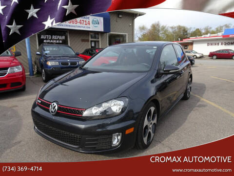2013 Volkswagen GTI for sale at Cromax Automotive in Ann Arbor MI