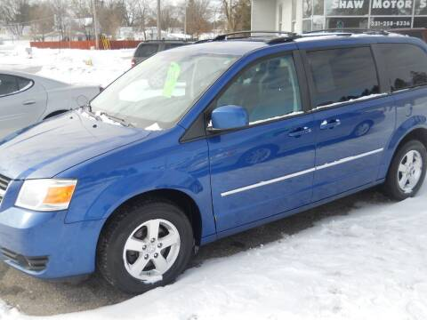 2010 Dodge Grand Caravan for sale at Shaw Motor Sales in Kalkaska MI