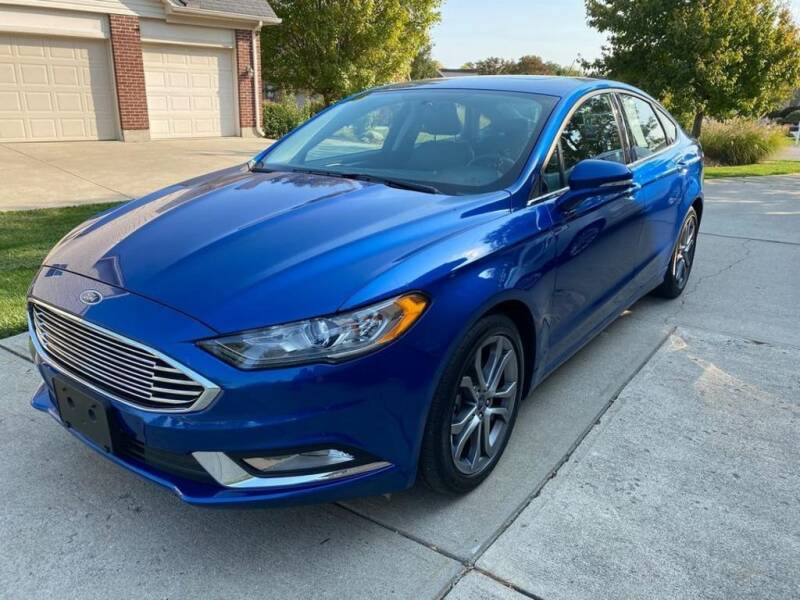 2017 Ford Fusion for sale in Hamilton, OH