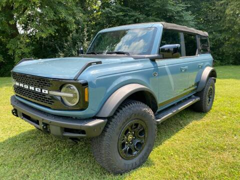 2021 Ford Bronco for sale at Kenny Vice Ford Sales Inc - New Inventory in Ladoga IN