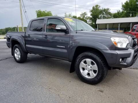 2012 Toyota Tacoma for sale at Moores Auto Sales in Greeneville TN