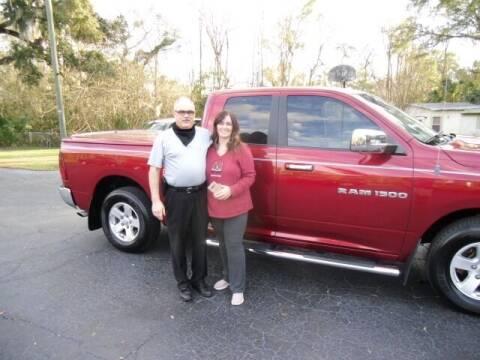 2012 RAM Ram Pickup 1500 for sale at HOGSTEN AUTO WHOLESALE in Ocala FL