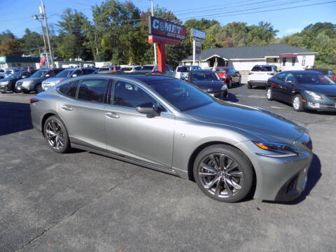2018 Lexus LS 500 for sale at Comet Auto Sales in Manchester NH