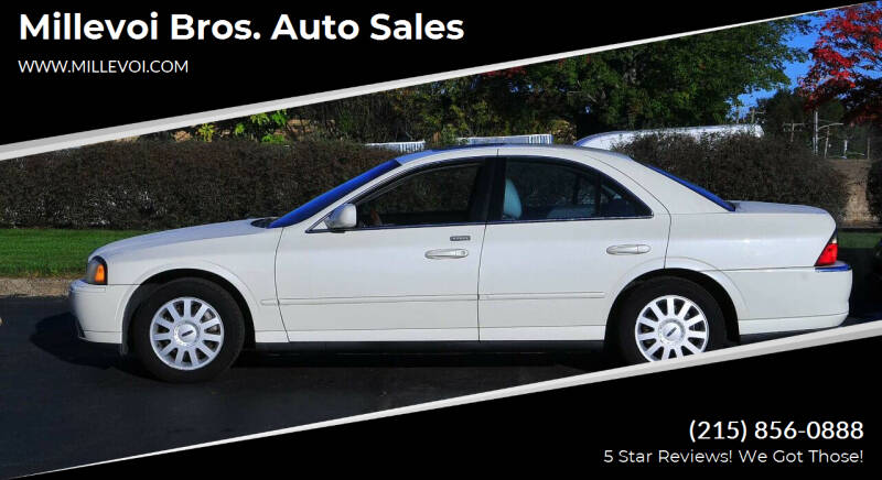 2005 Lincoln LS for sale at Millevoi Bros. Auto Sales in Philadelphia PA