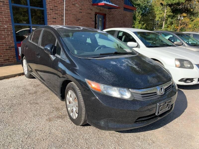 2012 Honda Civic for sale at Super Wheels-N-Deals in Memphis TN