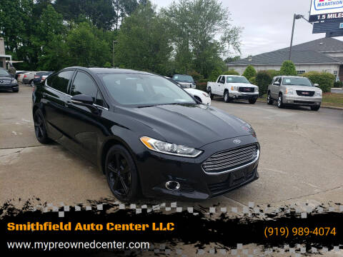 2016 Ford Fusion for sale at Smithfield Auto Center LLC in Smithfield NC