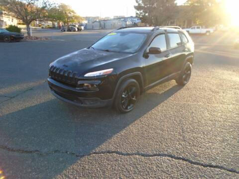 2017 Jeep Cherokee for sale at Team D Auto Sales in St George UT