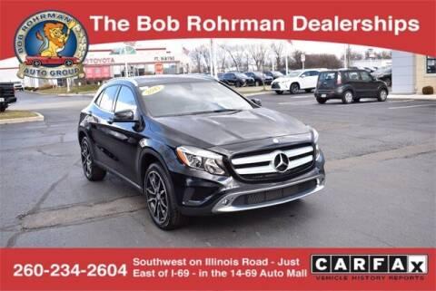 2017 Mercedes-Benz GLA for sale at BOB ROHRMAN FORT WAYNE TOYOTA in Fort Wayne IN