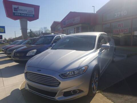 2013 Ford Fusion for sale at Quality Auto Today in Kalamazoo MI