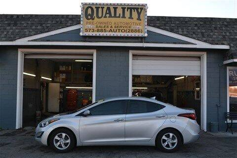 2015 Hyundai Elantra for sale at Quality Pre-Owned Automotive in Cuba MO