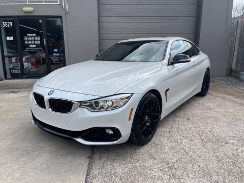 2015 BMW 4 Series for sale at PARK PLACE AUTO SALES in Houston TX