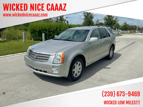 2005 Cadillac SRX for sale at WICKED NICE CAAAZ in Cape Coral FL