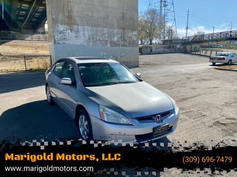 2005 Honda Accord for sale at Marigold Motors, LLC in Pekin IL