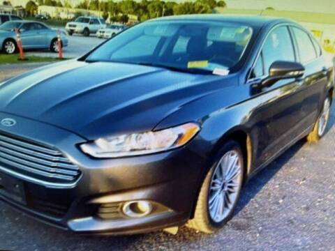 2015 Ford Fusion for sale at PHIL SMITH AUTOMOTIVE GROUP - SOUTHERN PINES GM in Southern Pines NC