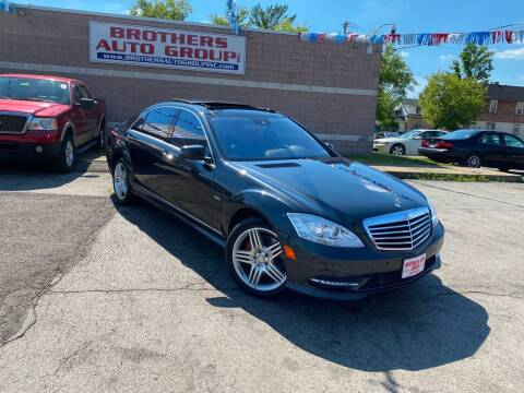 2012 Mercedes-Benz S-Class for sale at Brothers Auto Group in Youngstown OH