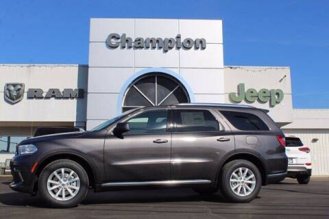 2021 Dodge Durango for sale at Champion Chevrolet in Athens AL