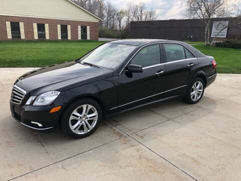 2010 Mercedes-Benz E-Class for sale at Renaissance Auto Network in Warrensville Heights OH
