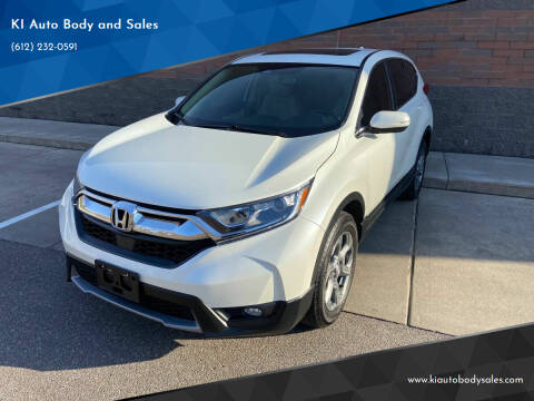 2018 Honda CR-V for sale at KI Auto Body and Sales in Lino Lakes MN