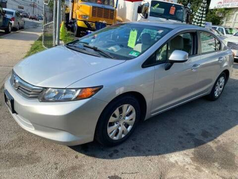 2012 Honda Civic for sale at Deleon Mich Auto Sales in Yonkers NY