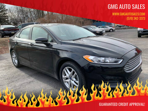 2015 Ford Fusion for sale at GMG AUTO SALES in Scranton PA