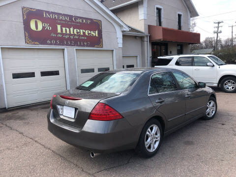 2006 Honda Accord for sale at Imperial Group in Sioux Falls SD