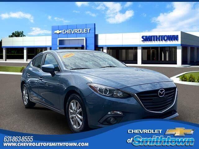 2015 Mazda MAZDA3 for sale at CHEVROLET OF SMITHTOWN in Saint James NY
