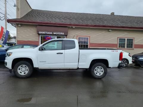 2017 Chevrolet Colorado for sale at Shattuck Motors in Newport VT