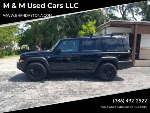 2007 Jeep Commander for sale at M & M Used Cars LLC in Daytona Beach FL