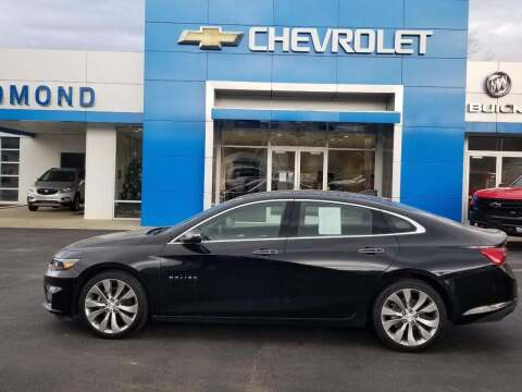 2018 Chevrolet Malibu for sale at EDMOND CHEVROLET BUICK GMC in Bradford PA