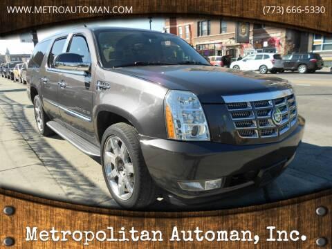 2010 Cadillac Escalade ESV for sale at Metropolitan Automan, Inc. in Chicago IL