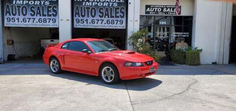 2002 Ford Mustang for sale at Affordable Imports Auto Sales in Murrieta CA